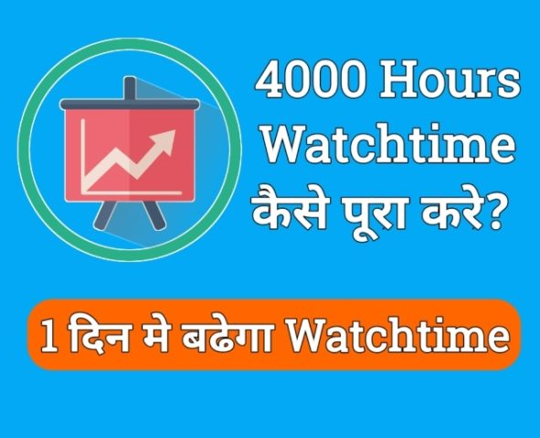 4000 hours watchtime and 1000 subscribers