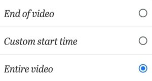 youtube channel homepage setting