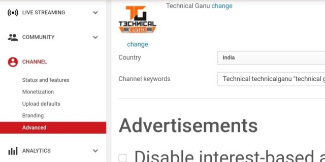 how to customize youtube channel in mobile