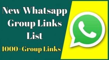 1000+Latest And Active Whatsapp Group Links Join List 2021