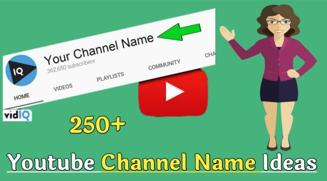 Youtube Channel Names